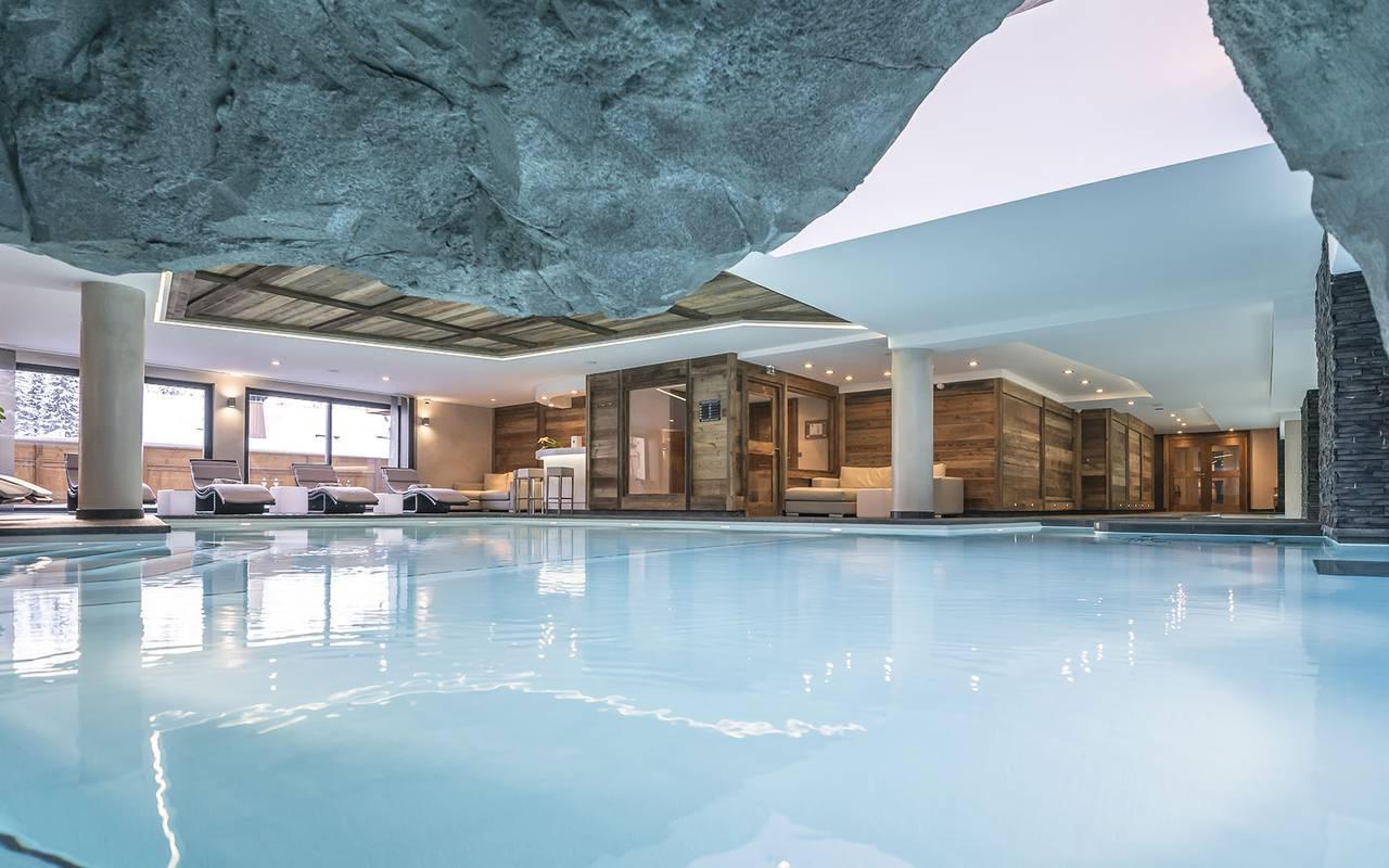 Hotel Spa In Meribel Le Kaila 5 Star Hotel